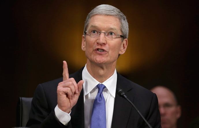 Apple CEO Timothy Cook (Chip Somodevilla / Getty Images / AFP)
