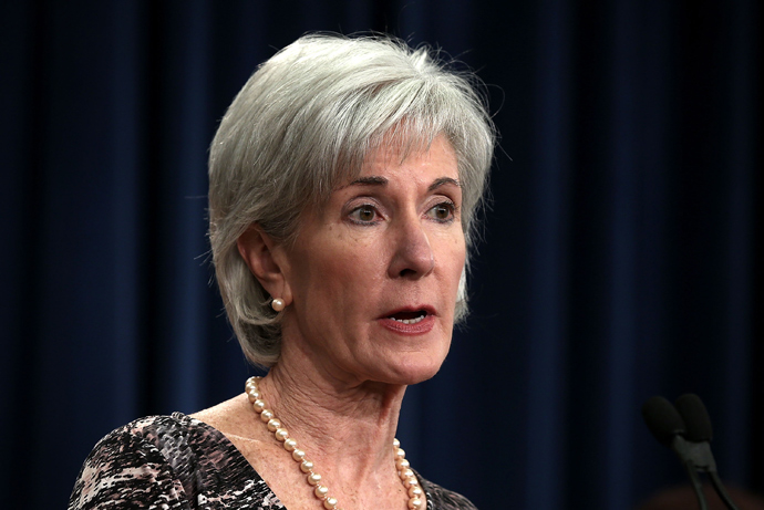 U.S. Secretary of Health and Human Services Kathleen Sebelius (Alex Wong / Getty Images / AFP)