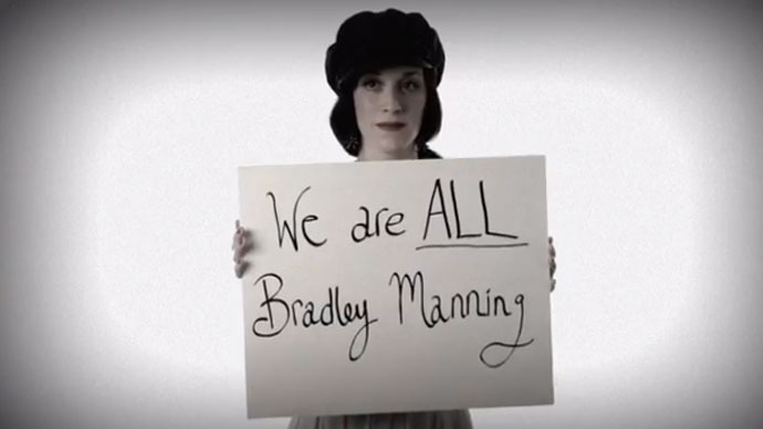 Are you Bradley Manning? High-profile Americans take to YouTube to back Nobel petition