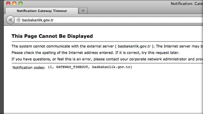 A screenshot from basbakanlik.gov.tr