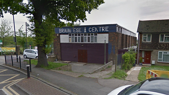 London Muslim community center burns down, arson feared over discovery of EDL 'stamp'