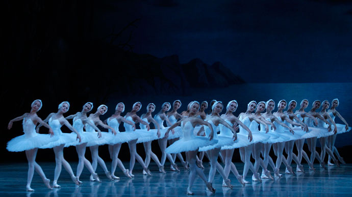 Russia's Mariinsky teams up with James Cameron for worldwide 3D broadcast of 'Swan Lake'