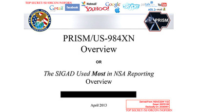 NSA telephone, Internet spying data shared with British Intelligence