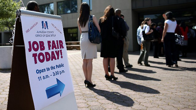 Unemployment rate on the rise for the first time in two years
