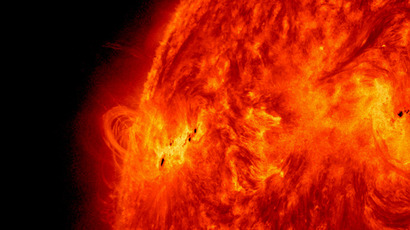 NASA captures close-up details of solar storm for first time (VIDEO)