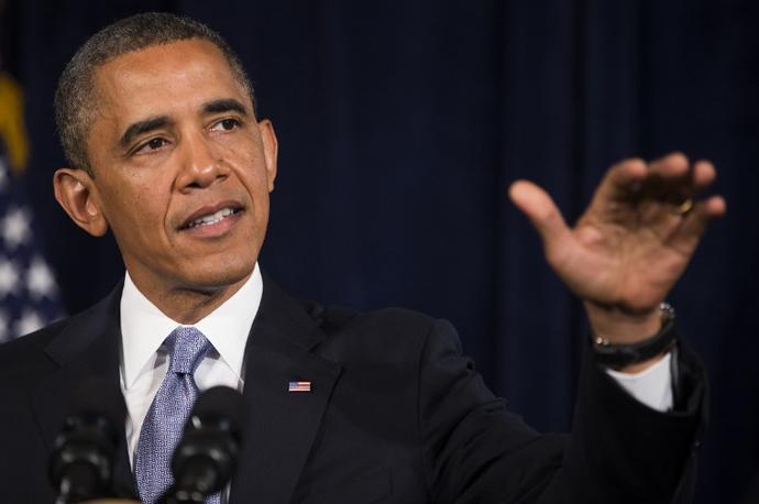 U.S. President Barack Obama (AFP Photo / Stephen Lam)