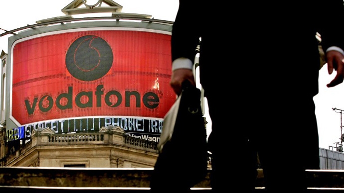 Vodafone pays no UK corporate tax for second year running