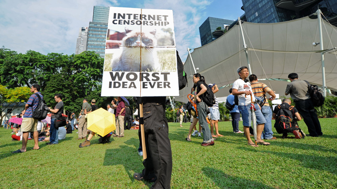 'Free My Internet': Hundreds march in Singapore against website licensing regime (PHOTOS)