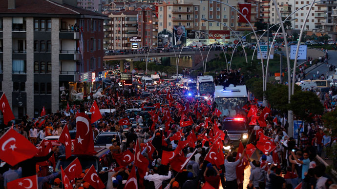 Turkey police crush protests, govt refuses to resign (PHOTOS, VIDEO)