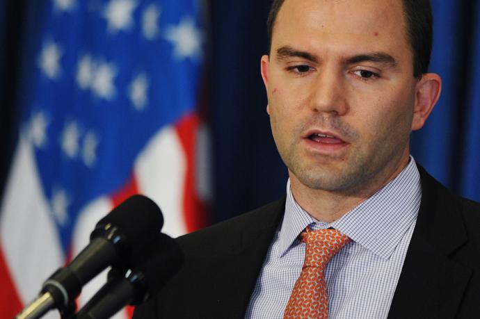 US Deputy National Security Advisor Ben Rhodes (AFP Photo / Mandel Ngan)