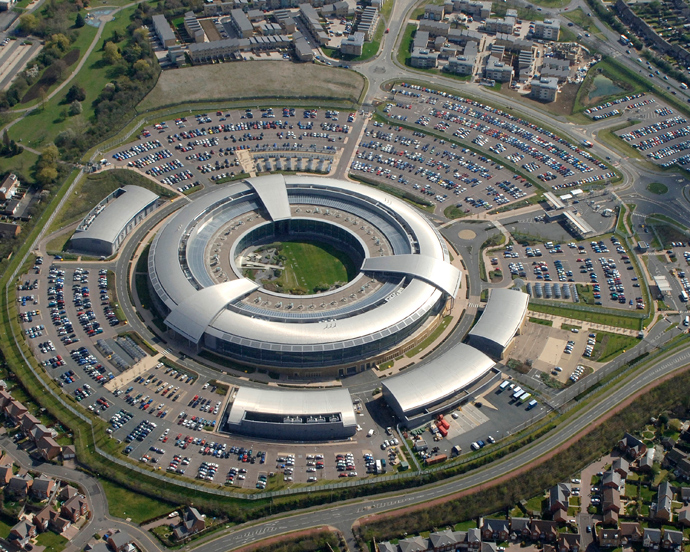 Britain's Government Communications Headquarters (GCHQ) in Cheltenham (Reuters)