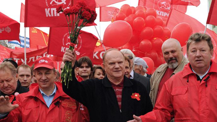 Communist Party leader Gennady Zyuganov (RIA Novosti)