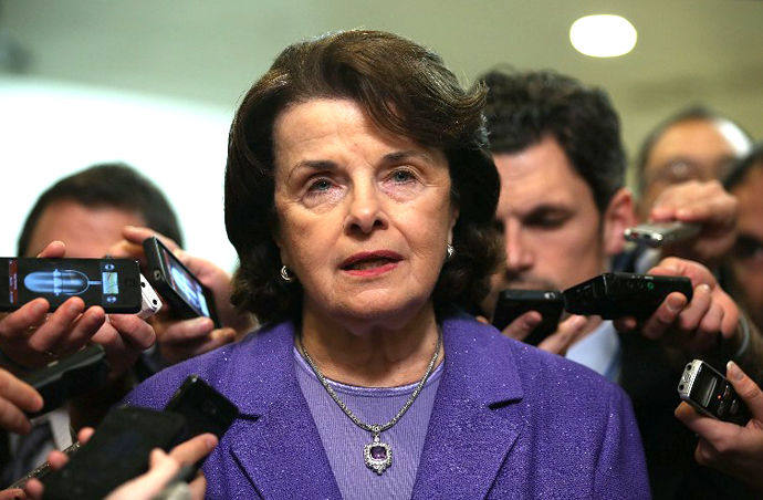 Senator Dianne Feinstein (D-CA) (AFP Photo / Getty Images / Alex Wong)
