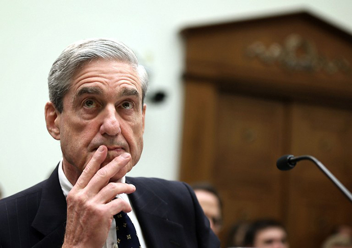 Federal Bureau of Investigation Director Robert Mueller testifies during a hearing before the House Judiciary Committee June 13, 2013 on Capitol Hill in Washington, DC. (AFP Photo / Alex Wong)