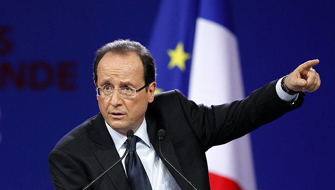 Francois Hollande (AFP Photo / Patrick Kovarik)