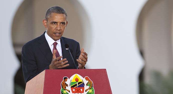 US President Barack Obama, July 1, 2013. (AFP Photo / Saul Loeb)