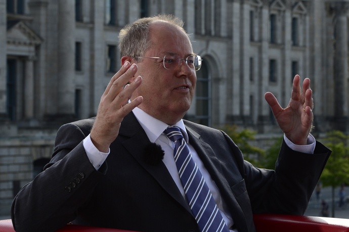Peer Steinbrueck (AFP Photo)