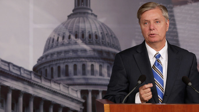 U.S. Sen. Lindsey Graham (R-SC) (Chip Somodevilla/Getty Images/AFP)