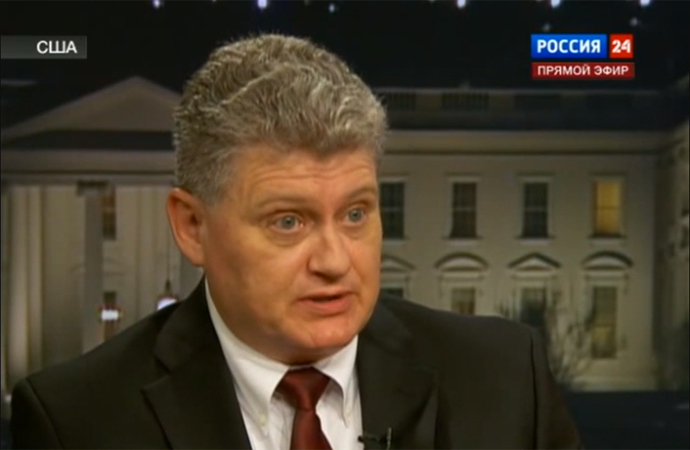 Lon Snowden (Screenshot from Russia 24 TV Channel)