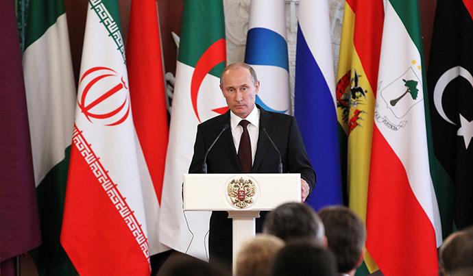 Russian President Vladimir Putin, July 1, 2013. (RIA Novosti / Mikhail Klementiev)