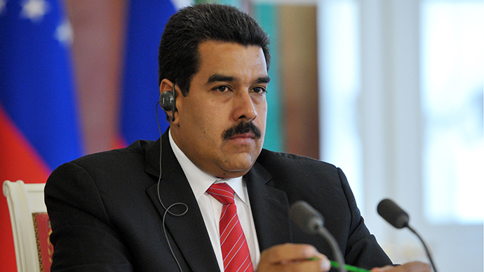 President Nicolas Maduro seen attending the Kremlin's joint press conference, July 2, 2013 (RIA Novosti / Aleksey Nikolskyi)