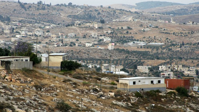 Israel West Bank settlement construction at 7-yr high