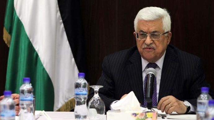 Palestinian president Mahmud Abbas (AFP Photo / Abbas Momani)
