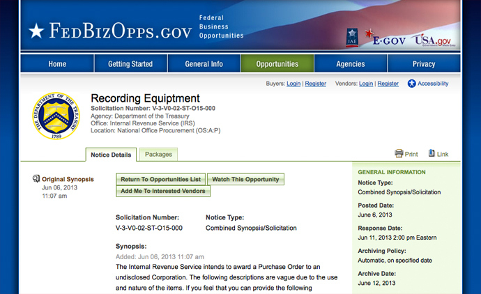 image from www.fbo.gov