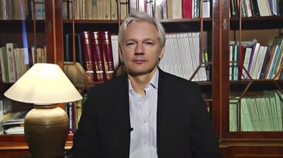 365 days on ice: Assange still holed up in Ecuador's London Embassy