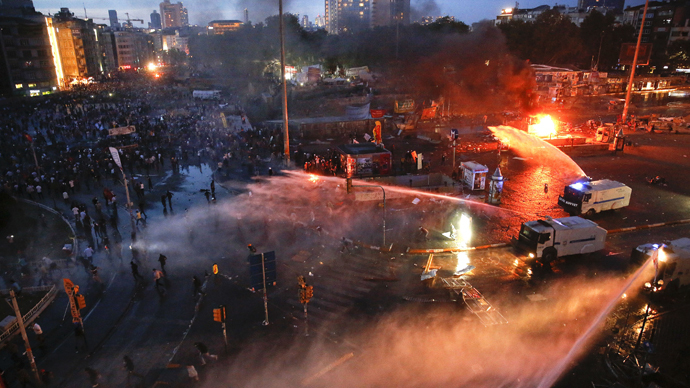 Protesters who return to Taksim are terrorist supporters – Turkish minister