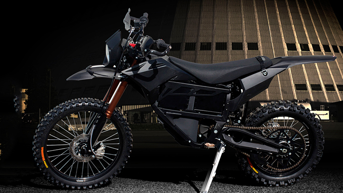 US Special Forces testing stealth motorcycle