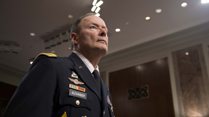 NSA Director Alexander calls Snowden's claim about total wiretapping 'false'