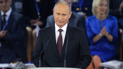 Russia must become leader in knowledge, intellect and culture, Putin tells supporters