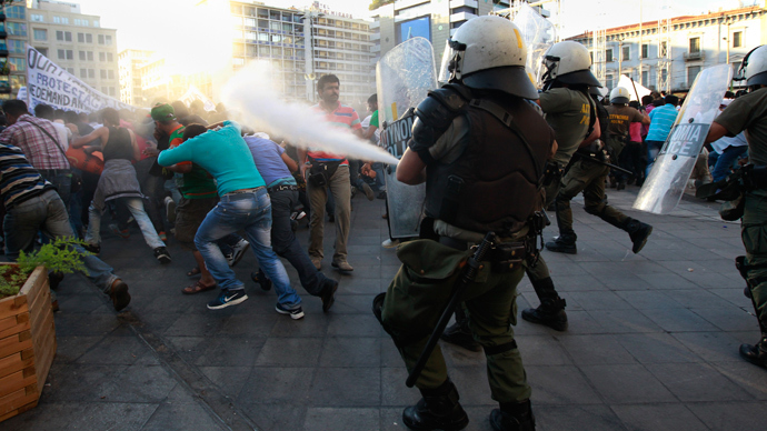 Invented 'to shut people up': European democracy smells of teargas