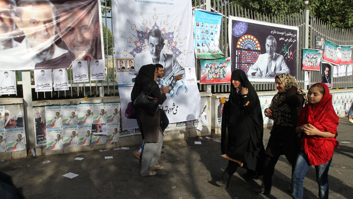 'We don't give a damn about US': Iran votes for new president amid criticism