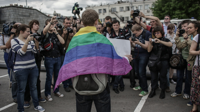 Top Russian gay activist may face lawsuit for 'obscene' tweets to MPs