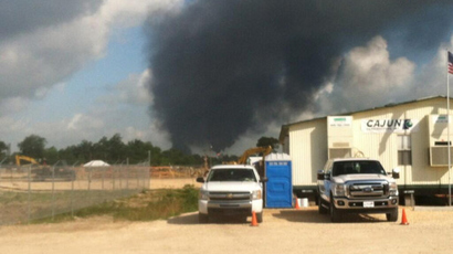 Gas pipeline rupture sparks major blast outside New Orleans
