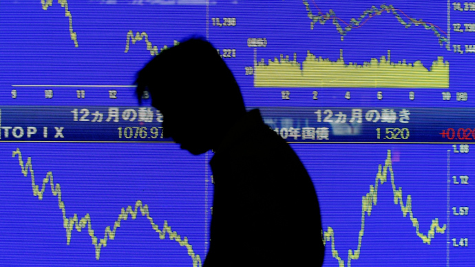 Japan's Nikkei loses more than 6 percent on sharp fluctuations in the yen