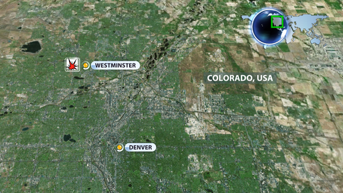Huge explosion in Westminster, Colorado, two homes destroyed