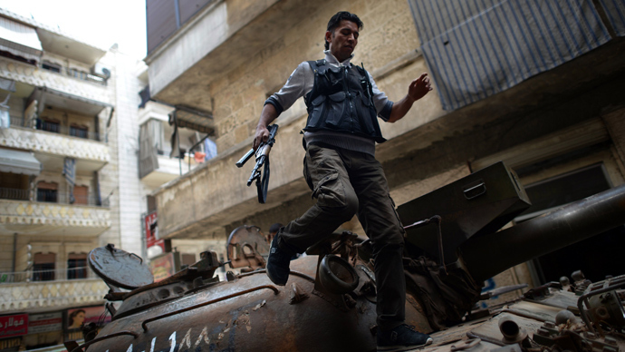 US to give military support to Syrian rebels as 'red line' crossed