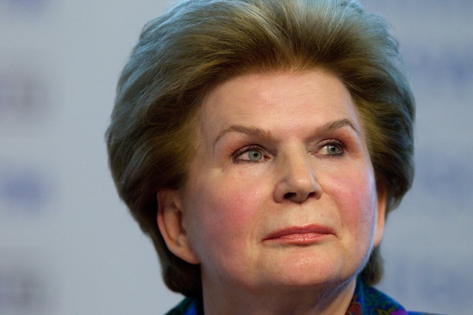 First female cosmonaut Valentina Tereshkova (RIA Novosti)