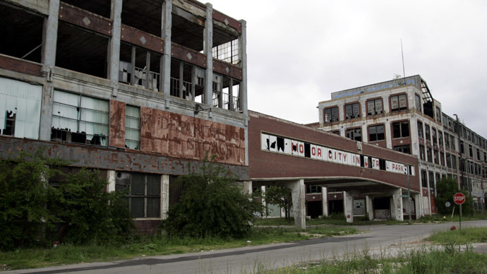 Detroit rock bottom: City announces $2.5bn debt default