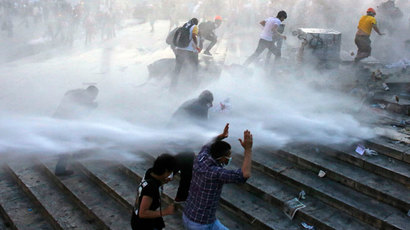 'Clearing Gezi Park is my duty' says Erdogan amid fierce protests (PHOTOS, VIDEO)