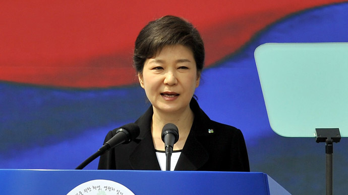 South Korean President Park Geun-Hye (AFP Photo)