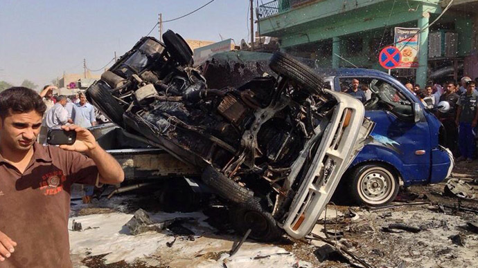 Bomb at football pitch kills teenagers in Iraq