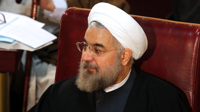 Hassan Rohani (AFP Photo / Atta Kenare)