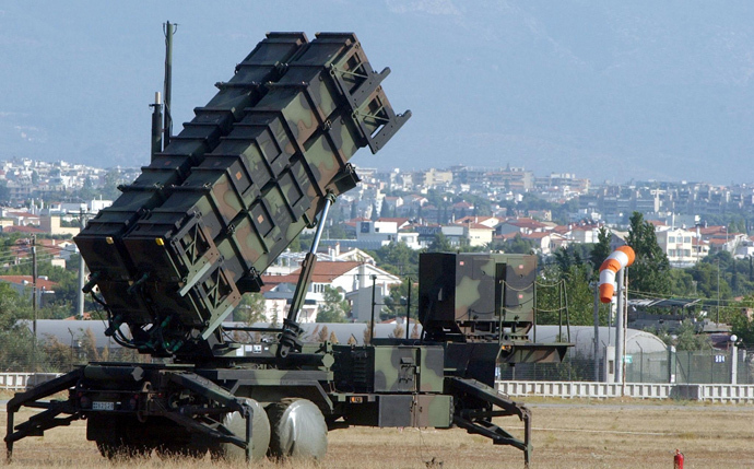 A range of Patriot anti-aircraft missiles (AFP Photo / Str)