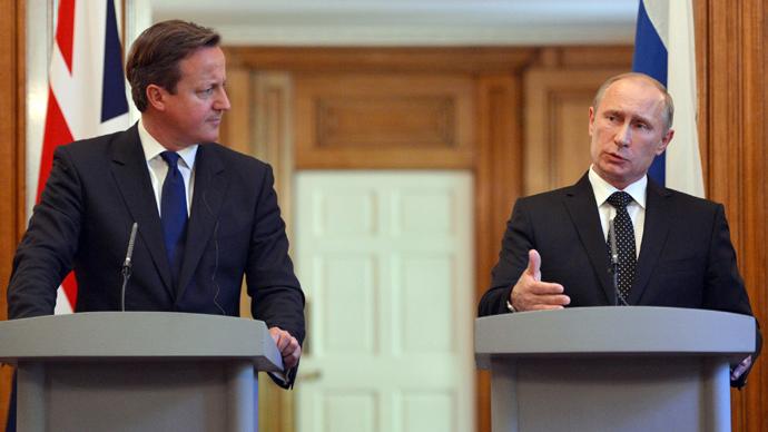 Putin warns Cameron against arming Syrian rebels as UK weighs options