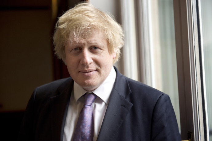 Mayor of London Boris Johnson (AFP Photo / Miguel Medina)