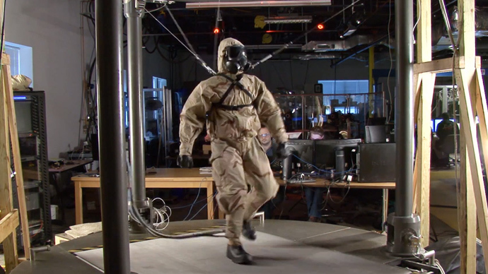 Petman (Screenshot from youtube.com @BostonDynamics)